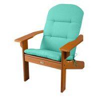 """Adirondack Chair Cushion 46""""x22""""x2-1/2"""" - Sea Foam Green"""