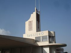Former Tagliero garage, Asmara, Eritrea. Photo by Adrian Yekkes