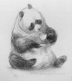 10x de Madera Panda comer Bambú Craft forma sentado 3 mm capas Oso Animal Chino