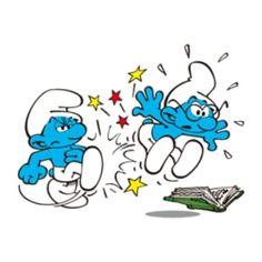 Smurfs, Stickers, Fictional Characters, Art, Caricatures, Comics, Universe, Art Background, Kunst