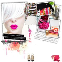 """""""Color splash (London)"""" by punnky ❤ liked on Polyvore"""