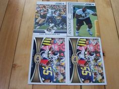 SAM BRADFORD STEVEN JACKSON MICHAEL BROCKERS 2012 St. Louis Rams Lot w/Parallel