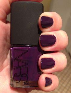 Nails of the day: nars fury cruelty free beauty & lifestyle Dark Purple Nails, Dark Nails, Gel Nails, Love Nails, How To Do Nails, Pretty Nails, Nail Pops, Nail Envy, Nail Polish Colors