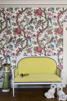 Bildresultat för blommiga tapeter boråstapeter