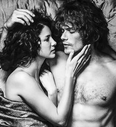 Lusting After Jamie Fraser — outlander-news: Sam Heughan and Caitriona.You can find Jamie fraser and more on our website.Lusting After Jami. Outlander News, Outlander Season 3, Outlander Quotes, Outlander Casting, Outlander Tv Series, Outlander Tattoos, Outlander Funny, Outlander Characters, Claire Fraser