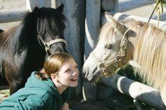 Georgie ,from Heartland, plays with some ponies during free-time. Heartland Georgie, Heartland Seasons, Heartland Cast, Ty Borden, Tv Moms, Alisha Newton, Erin Krakow, Amber Marshall, Canada