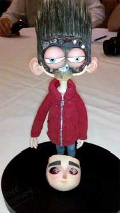 Stop Motion Puppets Paranorman | Norman bravely summons up all that makes a hero – courage and ...