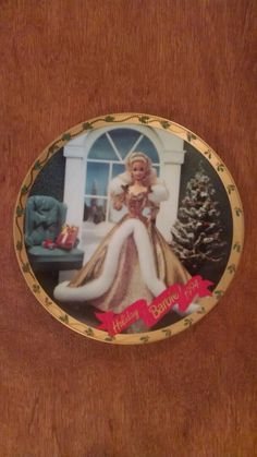 Barbie 1994 Happy Holidays Collector Plate