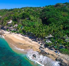 Playa Escondida Sayulita, Boutique Hotel and exotic hideaway The Bachelor In Paradise, Paradise Hotel, Oh The Places You'll Go, Places To Visit, Travel Around The World, Around The Worlds, Holidays To Mexico, Beautiful Places To Travel, Adventure Travel