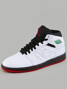 Air Jordan 1 Retro '97 White Black Gym Red #schuhe #jordan #nike #basket