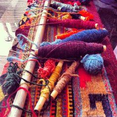 Artesena Zapoteca weaving, Teotitlan del Valle, Oaxaca