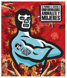 lucha libre poster - Google Search