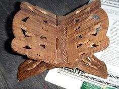 Book Holder, Office, Carved Book Holder, Carved Wood, Book Holder, Bibliophile, Book Easel, Global Decor, India, Kitchen, Dresser Decor by CasaKarmaDecor, $34.00 USD