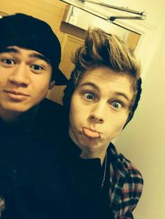 Calum and Luke>>> uuuuuhhhhhmmmm.... don't you mean cake?