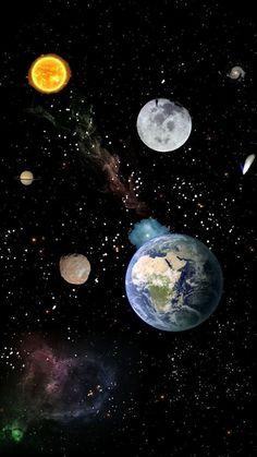 O que é Astronomia? Iphone Wallpaper Moon, Planets Wallpaper, Wallpaper Space, Tumblr Wallpaper, Galaxy Wallpaper, Screen Wallpaper, Iphone Wallpapers, Cool Wallpaper, Mobile Wallpaper