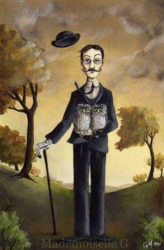 Haunted Man by MademoiselleG on Etsy