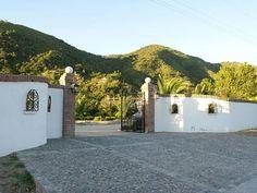 Entrance to the Bed & Breakfast Bellavista de #Colchagua.