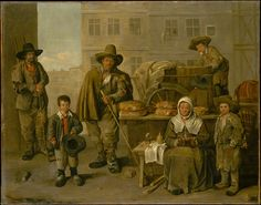 The Baker's Cart  Published 1656 Topics Europe, Canvas, Paintings, Metropolitan Museum of Art, France, Oil on canvas, 1656, Oil paint