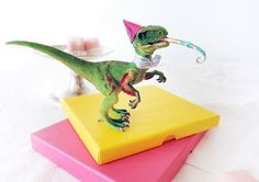Party Animals, Animal Party, Dinosaur Birthday Cakes, Birthday Fun, Birthday Parties, Plastic Dinosaurs, Girl Cakes, Babyshower, Party Time