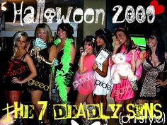halloween the 7 deadly sins halloween costumes college - Halloween Costumes For 7