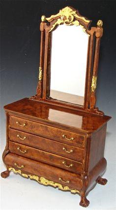 Dollhouse Bedroom Dresser, The Monticello