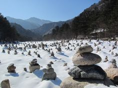 설악산 - 백담계곡 (Mt. Seoraksan, Korea)