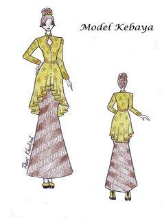 39 ideas fashion ilustration dresses design products for 2019 Fashion Drawing Dresses, Fashion Sketches, Women's Fashion Dresses, Model Kebaya, Tandoori Masala, High Street Fashion, Dress Drawing, Fashion Photography Inspiration, Dress Sewing Patterns