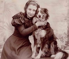 18 Photos Of Victorians Smiling - I like the shoulder treatment on this dress...and the bodice...and the sleeves...