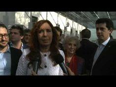 Declaraciones de Cristina Fernández luego de inaugurar el Sitio de la Memoria.