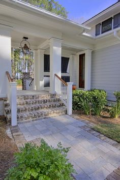 Traditional Exterior Stair Railings Outdoor Design Ideas, Pictures, Remodel and Decor