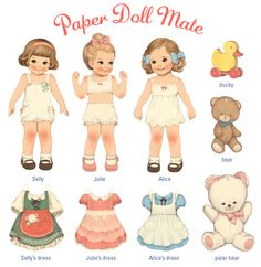 paper doll mate - Google Search