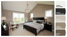 Paint colors from Chip It! Wall color is SW7031 - Mega Greige