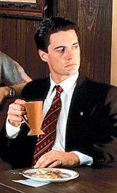 """""""Nothing beats the taste sensation when maple syrup collides with ham"""" - Dale Cooper"""