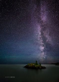 The Milky Way Over Lake Superior   This was on the North Sho…   Flickr