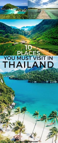 10 Places You Must Visit In Thailand|Pinterest: @theculturetrip #vacationplacesholidays