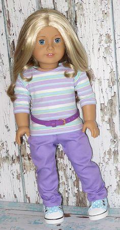Silly Monkey - Lavender Striped Top, Lavender Pants, and Purple Belt, $18.99 (http://www.silly-monkey.com/products/lavender-striped-top-lavender-pants-and-purple-belt.html)