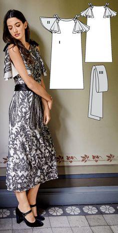 Dress Burda Dec 2016 #119  http://www.burdastyle.com/pattern_store/patterns/flapper-dress-122016