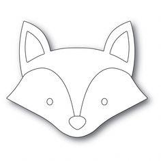 Fox Stuffed Animal, Stuffed Animal Patterns, Felt Patterns, Embroidery Patterns, Loom Patterns, Fox Crafts, Felt Fox, Baby Sewing Projects, Fox Pattern