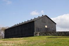 black bank barn