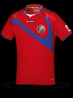 Camiseta de local de Costa Rica 2014