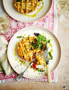 A refreshing and lighter pie bursting with the flavours of spring.