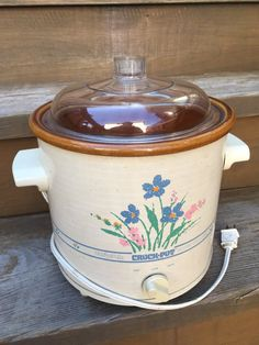 Used Vintage Rival Crock Pot - Qt - Works Great for sale in Chicago - letgo Crock Pot Slow Cooker, Crockpot, Hamilton Beach Slow Cooker, Rival Crock Pot, Vegan Cookbook, Glass Cabinet Doors, Antique Cabinets, Grey Flooring, Clay Pots
