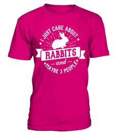 """# Rabbits T-Shirt - I Just Care About Rabbits! .  Special Offer, not available in shops      Comes in a variety of styles and colours      Buy yours now before it is too late!      Secured payment via Visa / Mastercard / Amex / PayPal      How to place an order            Choose the model from the drop-down menu      Click on """"Buy it now""""      Choose the size and the quantity      Add your delivery address and bank details      And that's it!      Tags: Funny Rabbits Shirt for Men, Women…"""