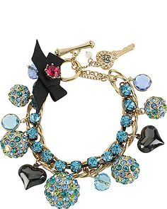 BETSEY JOHNSON  SEE DETAILS HERE: FIREBALL CHARM TOGGLE BLUE