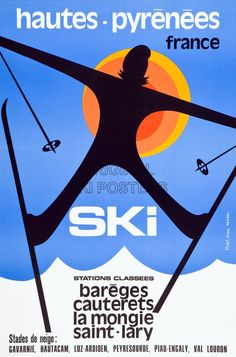 68 Ideas sport poster design vintage ski for 2019 Ski Vintage, Vintage Ski Posters, Vintage Graphic, Stations De Ski, Ski Club, Poster Design, Graphic Design, Viral Marketing, Snow Skiing