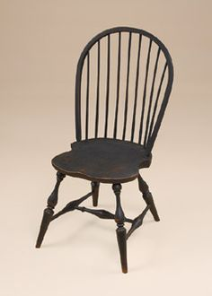 Historical Bow-Back Windsor Side Chair