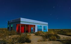Credit: Noel Kerns An abandoned Texaco station along Interstate 40, near the Route 66 ghost town of Glenrio
