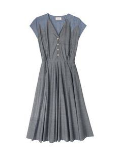 Mistinguett Dress from Toast.  Love a pretty grey dress.