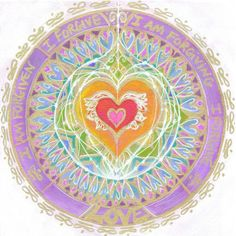 Beautiful forgiveness mandala