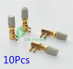 10pcs Dental Gas Air Electric Switches Electric Switch With 3mm Valve Dental Chair Unit Product Dental Equipment Suitable For Men And Children Women